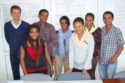 Workshop on social auditing in Addis Abeba. Photo: Bart Slob