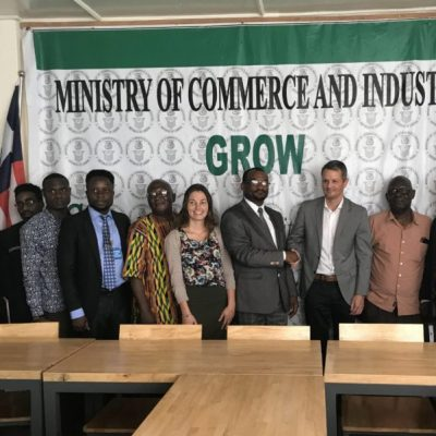 Meeting with the Liberian Deputy Minister for Commerce an Trade Services. Photo: Ministry of Commerce and Industry